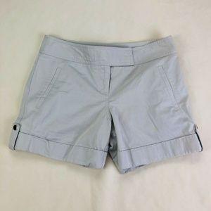 Ann Taylor LOFT Size 4 Beige Chino/Khaki Shorts